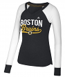 "Boston Bruins Women's Adidas NHL ""Puck Drop"" Dual Blend Long Sleeve T-shirt"