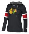 "Chicago Blackhawks Women's NHL Adidas ""Crewdie"" Pullover Hooded Sweatshirt"