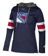 "New York Rangers Women's NHL Adidas ""Crewdie"" Pullover Hooded Sweatshirt"