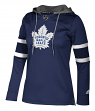 "Toronto Maple Leafs Women's NHL Adidas ""Crewdie"" Pullover Hooded Sweatshirt"