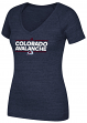 "Colorado Avalanche Women's Adidas NHL ""Dassler"" Tri-Blend Premium T-shirt"