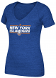 "New York Islanders Women's Adidas NHL ""Dassler"" Tri-Blend Premium T-shirt"