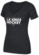 "Los Angeles Kings Women's Adidas NHL ""Dassler"" Tri-Blend Premium T-shirt"
