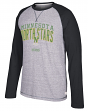 "Minnesota North Stars CCM NHL ""Boarding"" Tri-Blend Men's Long Sleeve Crew Shirt"
