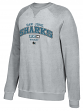 "San Jose Sharks CCM NHL Men's ""Practice"" Crew Fleece Sweatshirt"