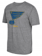 "St. Louis Blues CCM ""Heritage Logo"" Distressed Premium Tri-Blend T-Shirt"