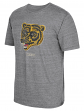 "Boston Bruins CCM ""Heritage Logo"" Distressed Premium Tri-Blend T-Shirt"