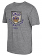 "Los Angeles Kings CCM ""Heritage Alternate"" Distressed Premium Tri-Blend T-Shirt"
