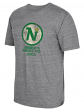 "Minnesota North Stars CCM ""Heritage Logo"" Distressed Premium Tri-Blend T-Shirt"