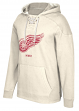 "Detroit Red Wings CCM NHL ""Bigger Logo"" Men's Vintage Hooded Sweatshirt"