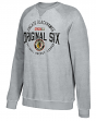"Chicago Blackhawks CCM NHL Men's ""Classic Six"" Crew Fleece Sweatshirt"