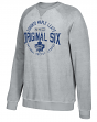 "Toronto Maple Leafs CCM NHL Men's ""Classic Six"" Crew Fleece Sweatshirt"