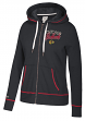 "Chicago Blackhawks Women's NHL CCM ""Open Net"" Full Zip Hooded Sweatshirt"