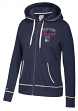 "New York Rangers Women's NHL CCM ""Open Net"" Full Zip Hooded Sweatshirt"