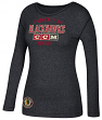 "Chicago Blackhawks Women's NHL CCM ""Team Property"" Tri-Blend Long Sleeve T-Shirt"