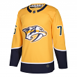 PK Subban Nashville Predators Adidas NHL Men's Authentic Yellow Hockey Jersey
