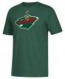Zach Parise Minnesota Wild Adidas NHL Men's Green Player T-Shirt