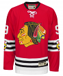 """Bobby Hull Chicago Blackhawks CCM """"Heroes of Hockey"""" Authentic Red Jersey"""