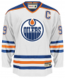 "Wayne Gretzky Edmonton Oilers CCM ""Heroes of Hockey"" Authentic White Jersey"