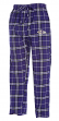 "Baltimore Ravens NFL ""Huddle"" Men's Flannel Pajama Pants"