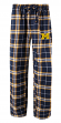 "Michigan Wolverines NCAA ""Huddle"" Men's Flannel Pajama Pants"