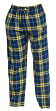 "Golden State Warriors NBA ""Huddle"" Men's Flannel Pajama Pants"