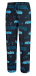 "Carolina Panthers NFL ""Slide"" Men's Cotton Knit Sleep Pajama Pants"
