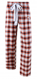 "Denver Broncos NFL Women's ""Forge"" Dual Blend Plaid Flannel Sleep Pants"