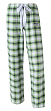 "Seattle Seahawks NFL Women's ""Forge"" Dual Blend Plaid Flannel Sleep Pants"