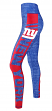 "New York Giants Women's NFL ""Showpiece"" Leggings Yoga Pants"