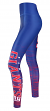 "New York Giants Women's NFL ""Yard Lines"" Leggings Yoga Pants"