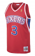 Allen Iverson Philadelphia 76ers Mitchell & Ness NBA Throwback Jersey - Red