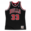 Scottie Pippen Chicago Bulls Mitchell & Ness NBA Throwback Jersey - Black