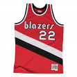 Clyde Drexler Portland Trail Blazers Mitchell & Ness NBA Throwback Jersey - Red