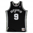 Tony Parker San Antonio Spurs Mitchell & Ness NBA Throwback Jersey - Black
