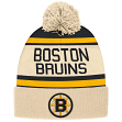 "Boston Bruins CCM NHL ""Heritage"" Cuffed Knit Hat with Pom"