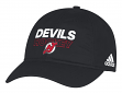 New Jersey Devils Adidas NHL Authentic Slouch Adjustable Hat