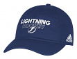 Tampa Bay Lightning Adidas NHL Authentic Slouch Adjustable Hat