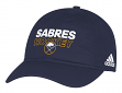Buffalo Sabres Adidas NHL Authentic Slouch Adjustable Hat