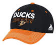 Anaheim Ducks Adidas NHL Authentic Locker Room Structured Flex Hat