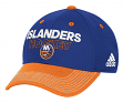 New York Islanders Adidas NHL Authentic Locker Room Structured Flex Hat