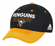 Pittsburgh Penguins Adidas NHL Authentic Locker Room Structured Flex Hat