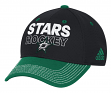 Dallas Stars Adidas NHL Authentic Locker Room Structured Flex Hat
