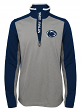 "Penn State Nittany Lions NCAA ""Top Notch"" Men's 1/4 Zip Mock Neck Jacket"