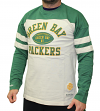 "Green Bay Packers Mitchell & Ness NFL ""Swing Pass"" Men's Heavyweight L/S Shirt"