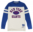 "New York Giants Mitchell & Ness NFL ""Swing Pass"" Men's Heavyweight L/S Shirt"