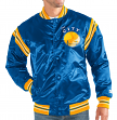 "Golden State Warriors NBA Men's Starter ""The Enforcer"" HWC Premium Satin Jacket"