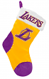 Los Angeles Lakers 2017 NBA Basic Logo Plush Christmas Stocking