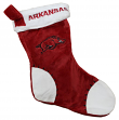 Arkansas Razorbacks 2017 NCAA Basic Logo Plush Christmas Stocking