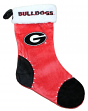 Georgia Bulldogs 2017 NCAA Basic Logo Plush Christmas Stocking
